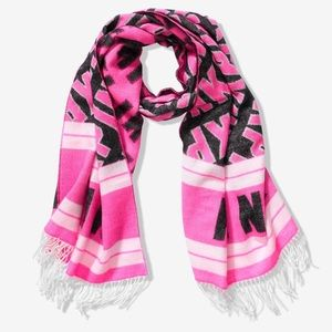 Pink Victoria's Secret scarf NEW